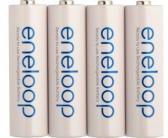 Panasonic Eneloop uppladdningsbara batterier