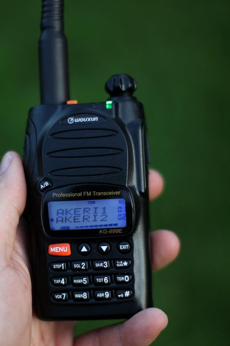 Komradio Wouxun KG-699E 66-88MHz för åkeririkskanalerna